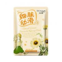 Очищающая тканевая маска с экстрактом ромашки Bioaqua Natural Extract Chamomile Hydra Mask